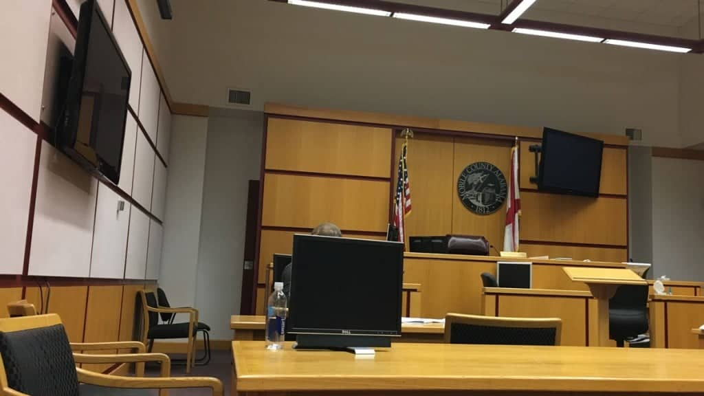 Mobile County Court Courtroom