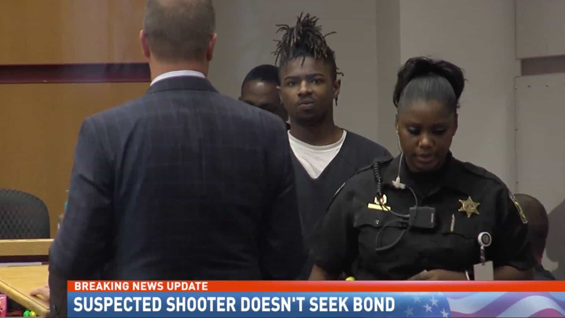 Suspect in Shooting, McAlpine, Doesn't Seek Bond